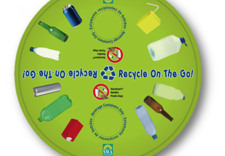 Recycling Bin Decal & Poster
