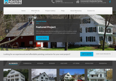 Painting Contractor Website